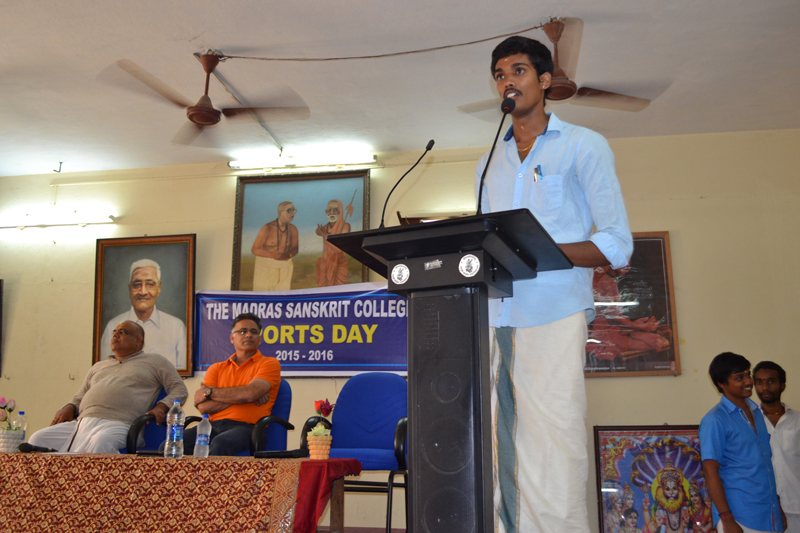 Welcome to Madras Sankrit College :: About Us - Gallery